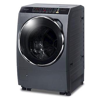 Panasonic國際牌 13公斤ECONAVI洗脫烘滾筒洗衣機NA-V130DDH-G晶燦銀