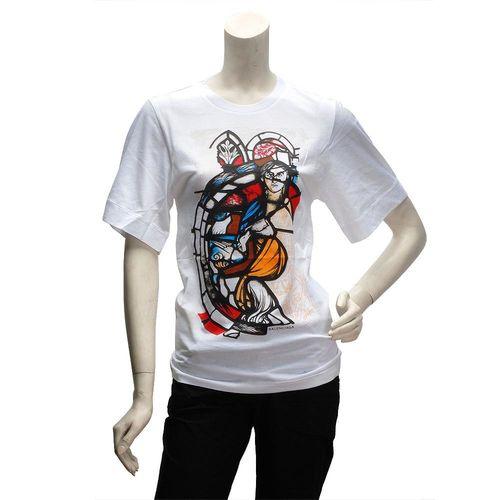 BALENCIAGA 塗鴉風格短袖T恤(女)