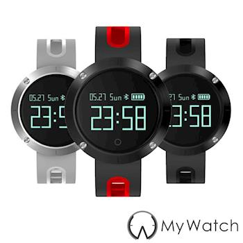 My Watch 運動守護藍牙智慧手環(IP67防水/心率) MY10