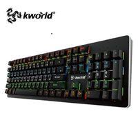 廣寰電競機械鍵盤星際幻彩版C400 (紅,茶軸)