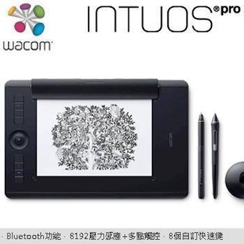 Wacom Intuos Pro paper Medium 雙功能創意觸控繪圖板(PTH-660/K1)