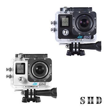 【U-ta】4K高清畫質WIFI雙螢幕行車紀錄器SHD(贈搖控器)