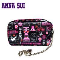Anna Sui 日本安娜蘇 復古時尚經典花朵流線設計造型太陽眼鏡 (棕) AS873-001