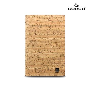 CORCO 經典軟木護照夾 - 原棕色