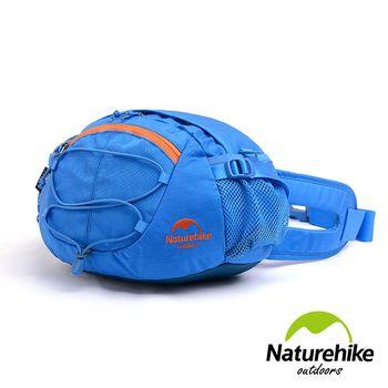 Naturehike 8L輕量耐磨CORDURA亮彩多功能腰包 肩背包 提包 藍色