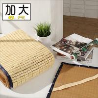 BuyJM 日式專利3D立體透氣網雙人加大6尺麻將涼蓆-附鬆緊帶/長186*寬180
