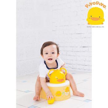 黃色小鴨PiyoPiyo-兩段式功能造型幼兒便器