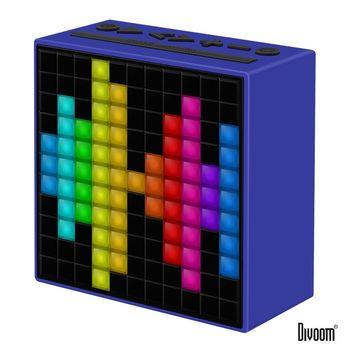 DIVOOM TimeBox 智能LED音樂鬧鐘(藍牙喇叭) - 活力藍