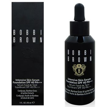 BOBBI BROWN 高保濕修護精華粉底SPF40 PA+++(30ml)#2+專櫃隨機化妝包