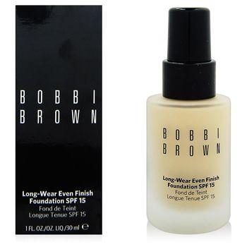 BOBBI BROWN 無瑕持久粉底液SPF15(30ml)#2.5+專櫃隨機化妝包