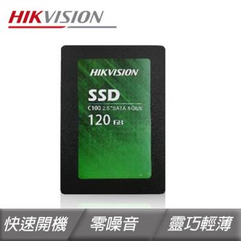 Hikvision 海康  C100-120GB 2.5吋 SATAIII 固態硬碟