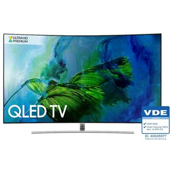 SAMSUNG三星 65吋Q8C黃金曲面QLED電視QA65Q8C/QA65Q8CAMWXZW/QA65Q8CAM