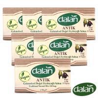 【土耳其dalan】頂級76%橄欖油傳統手工皂 6入