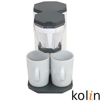 Kolin歌林雙杯咖啡機KCO-MN3002