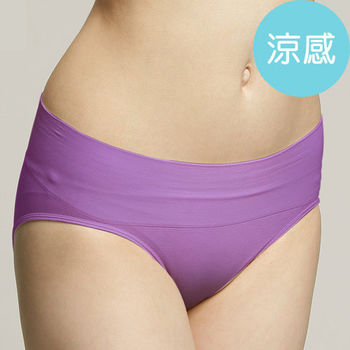 足下物語 抗菌舒型三角褲 (S-L) (紫)