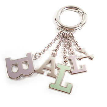 BALLY LOGO字母鎖圈
