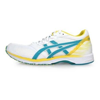 ASICS TARTHERZEAL 5 虎走女路跑鞋-慢跑 亞瑟士 白綠黃
