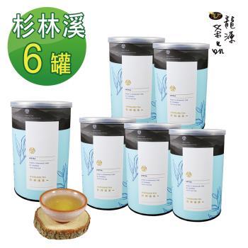 【龍源茶品】杉林溪清香甘醇烏龍茶葉6罐組(150g/罐)