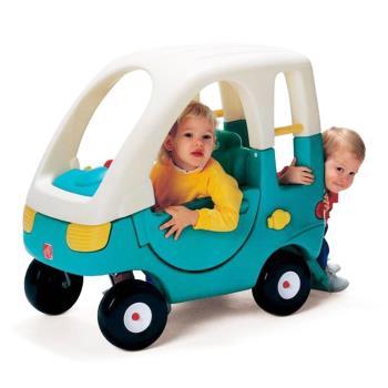 【華森葳兒童教玩具】戶外遊戲器材-Step2 雙人腳行車 A4-7209