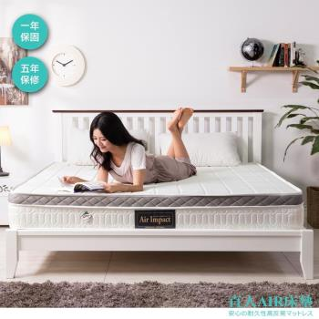 【日本直人木業】AIR床墊AP11 / 3.5 尺單人床墊 (3M防水透氣表布/ 高回彈袋裝獨立筒/4D網透氣邊帶)