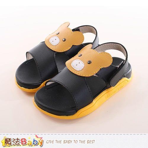 童鞋 時尚潮流休閒涼鞋 魔法Baby~sk0173
