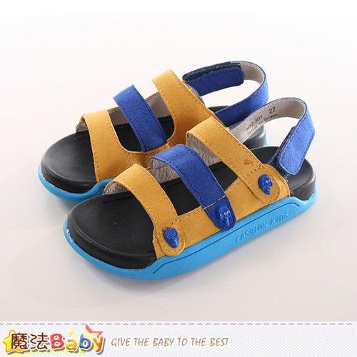童鞋 時尚潮流休閒涼鞋 魔法Baby~sk0172