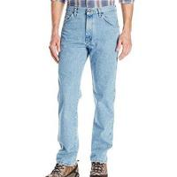 Wrangler 2017男時尚藍哥正宗經典輕石洗藍色牛仔褲(預購)