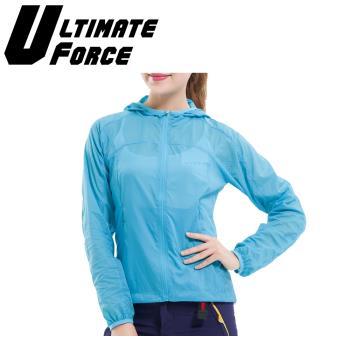 Ultimate Force「動力」女款速乾防曬外套-藍色