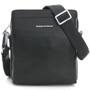 【金安德森】斜側包 質男態度 直式單拉鍊質感小款-質感黑(KA172005BKF)