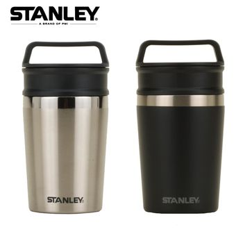【美國Stanley】冒險兩用保溫馬克杯236ml-黑色