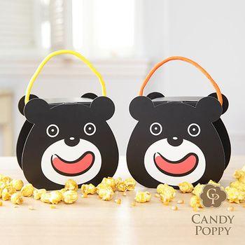 Candypoppy 糖果波比-世大運熊讚裹糖爆米花小禮盒6入組