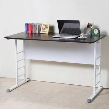 Homelike 亞當120cm美型書桌-亮白系列(兩色任選)