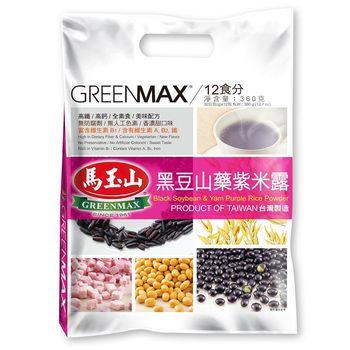馬玉山 黑豆山藥紫米露(12入)