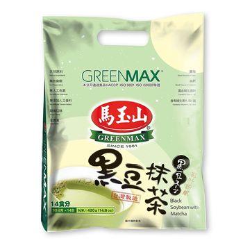 【馬玉山】黑豆抹茶(14入)