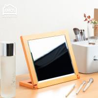 【Amos】古典佳人桌上木框立鏡