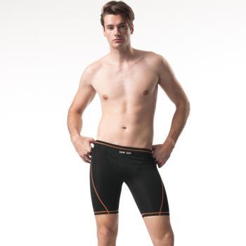 【SAIN SOU】競賽型七分泳褲加贈矽膠泳帽A57302