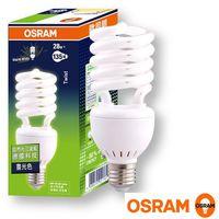 歐司朗OSRAM T3 28W 螺旋省電燈泡-4入組