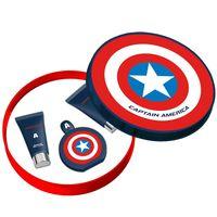 MARVEL CAPTAIN AMERICA 美國隊長 男性香水 禮盒