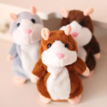 會說話倉鼠錄音老鼠 回聲玩偶兒童玩具