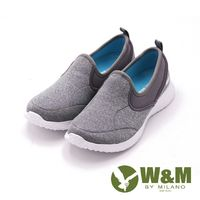 W&M MODARE系列 素面直套式休閒鞋 女鞋-灰(另有藍)