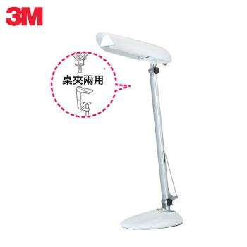 3M 58度LED博視燈桌夾兩用檯燈GL6000(氣質白)