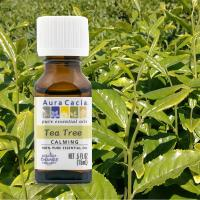 【Aura cacia 卡希雅】美國原裝進口 茶樹原萃精油(15mL)