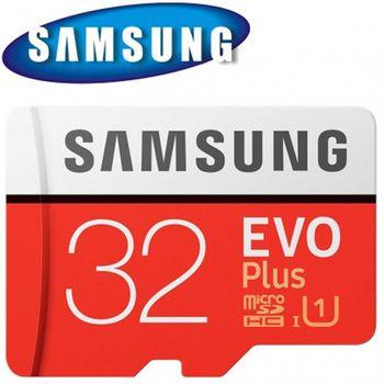 SAMSUNG 三星 32G 95MB/s EVO Plus microSDHC TF U1 C10 記憶卡