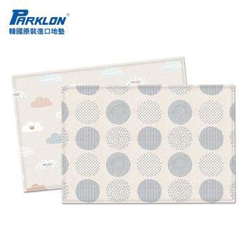 【BabyTiger虎兒寶】PARKLON 韓國帕龍 - 雙面加厚 1 . 2CM PVC 爬行地墊 -【雲朵泡泡】