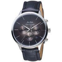 ALBA 雅柏ACTIVE黑色低調計時腕錶 VD53-X271C
