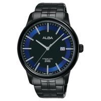 ALBA雅柏 日系時尚手錶 鍍黑 42mm VJ42-X226B AS9D87X1