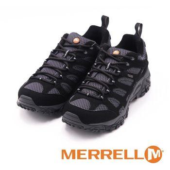 MERRELL MOAB GORE-TEX越野登山風運動休閒鞋-男鞋-黑(另有棕)