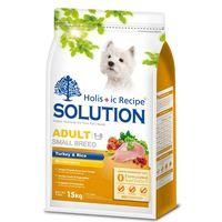 SOLUTION耐吉斯 成犬 高適口性 火雞肉+蔬菜 狗飼料 1.5公斤*1
