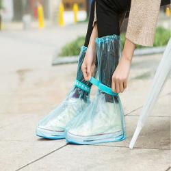 韓版 高筒雨鞋 加厚雨鞋套-網