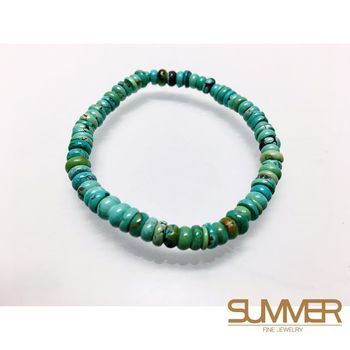 SUMMER寶石 天然綠松石手珠《 8g 》(H6-16)